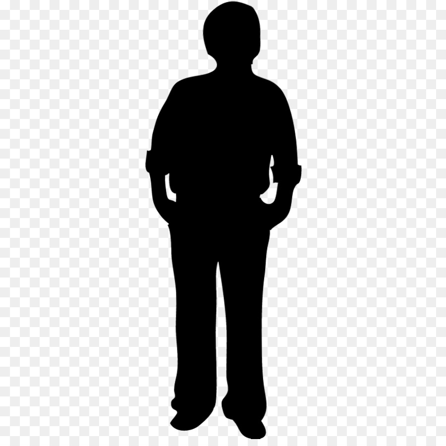 Silhouette person clipart banner black and white Person Cartoon png download - 321*886 - Free Transparent ... banner black and white