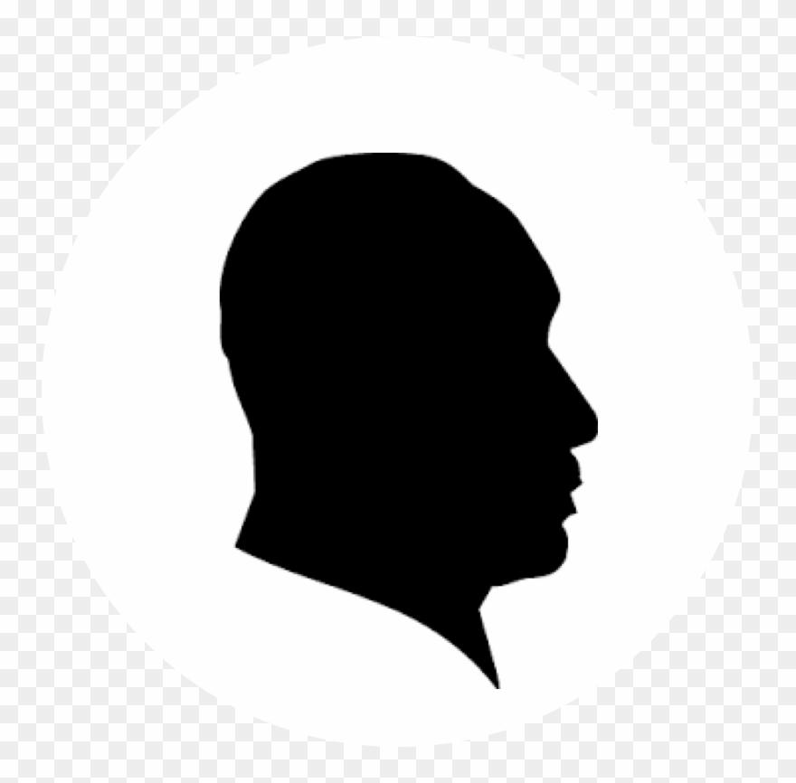 Silhouette portrait clipart jpg library download Tayo Adenmosun - Silhouette Portrait De Face Clipart ... jpg library download
