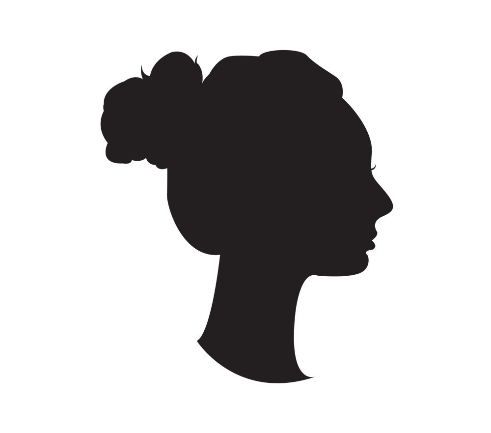 Silhouette portrait clipart svg free stock Silhouette portrait clipart 1 » Clipart Portal svg free stock