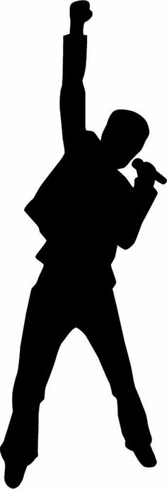 Silhouette singer clipart clip black and white download Free Singer Silhouette Cliparts, Download Free Clip Art ... clip black and white download