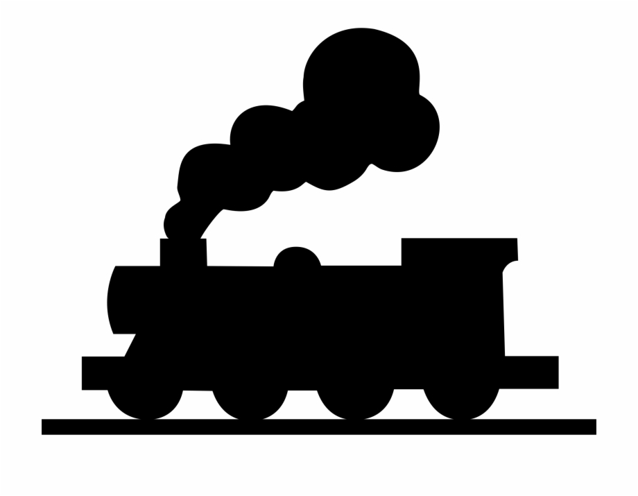 Silhouette train clipart black and white jpg black and white download Train Silhouette Clipart At Getdrawings - Silhouette Of A ... jpg black and white download