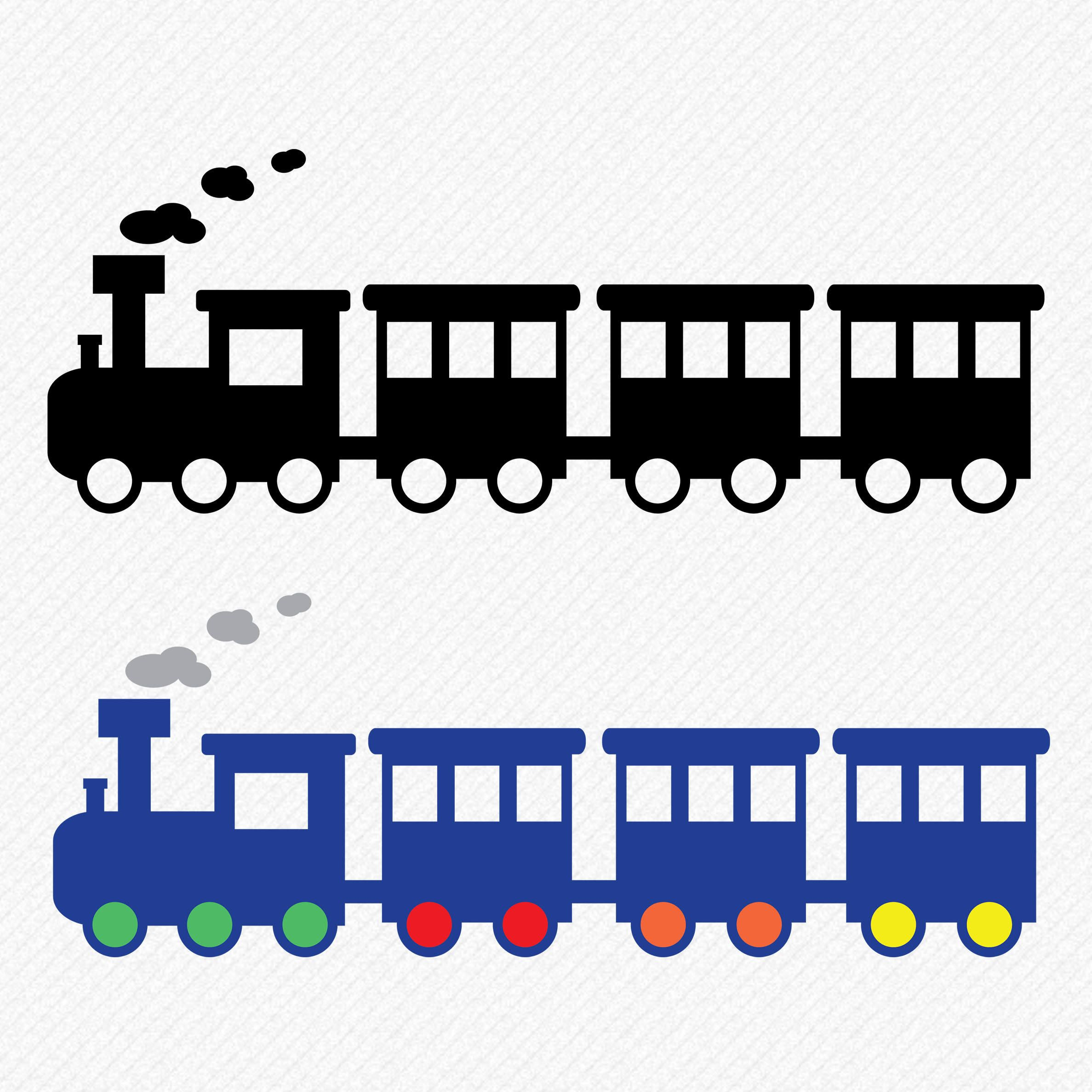 Silhouette train clipart black and white vector transparent download Train svg, Train Clipart, Train Silhouette, Train Vector ... vector transparent download