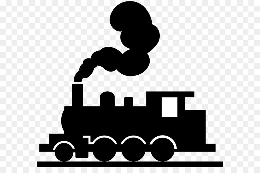Silhouette train clipart black and white png free download Steam Logo png download - 2000*1800 - Free Transparent Train ... png free download