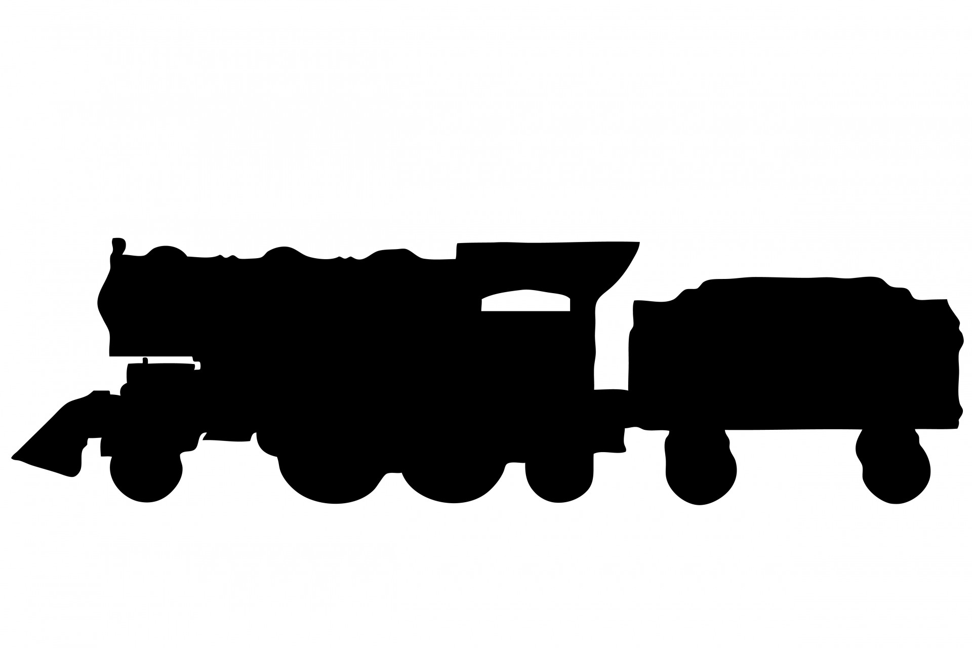 Silhouette train clipart black and white jpg royalty free library Free Train Silhouette Cliparts, Download Free Clip Art, Free ... jpg royalty free library