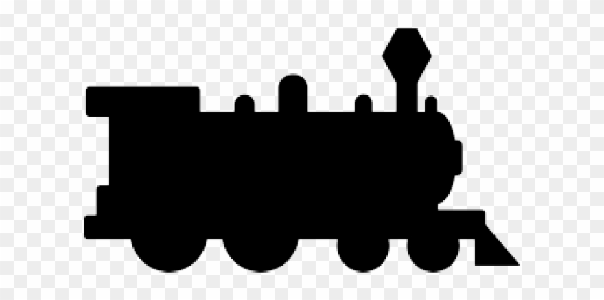 Silhouette train clipart black and white clipart royalty free download Silhouette Clipart Train - Thomas The Train Silhouette - Png ... clipart royalty free download