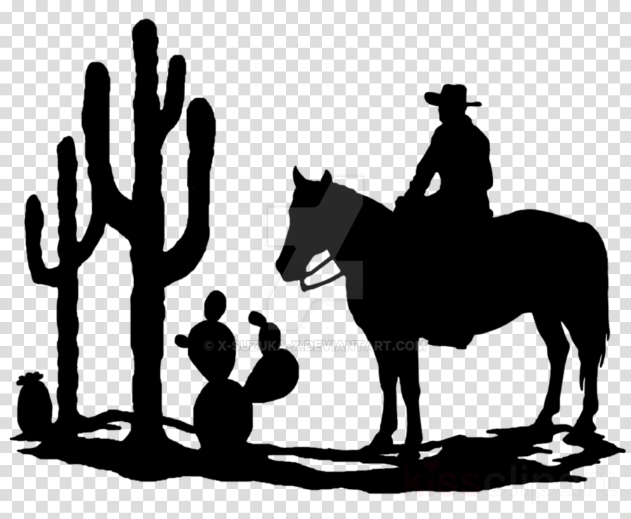 Silhouette western clipart clip royalty free library Download western silhouette clipart Silhouette Cowboy Clip art clip royalty free library