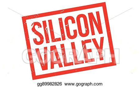 Silicon clipart image EPS Vector - Silicon valley rubber stamp. Stock Clipart ... image