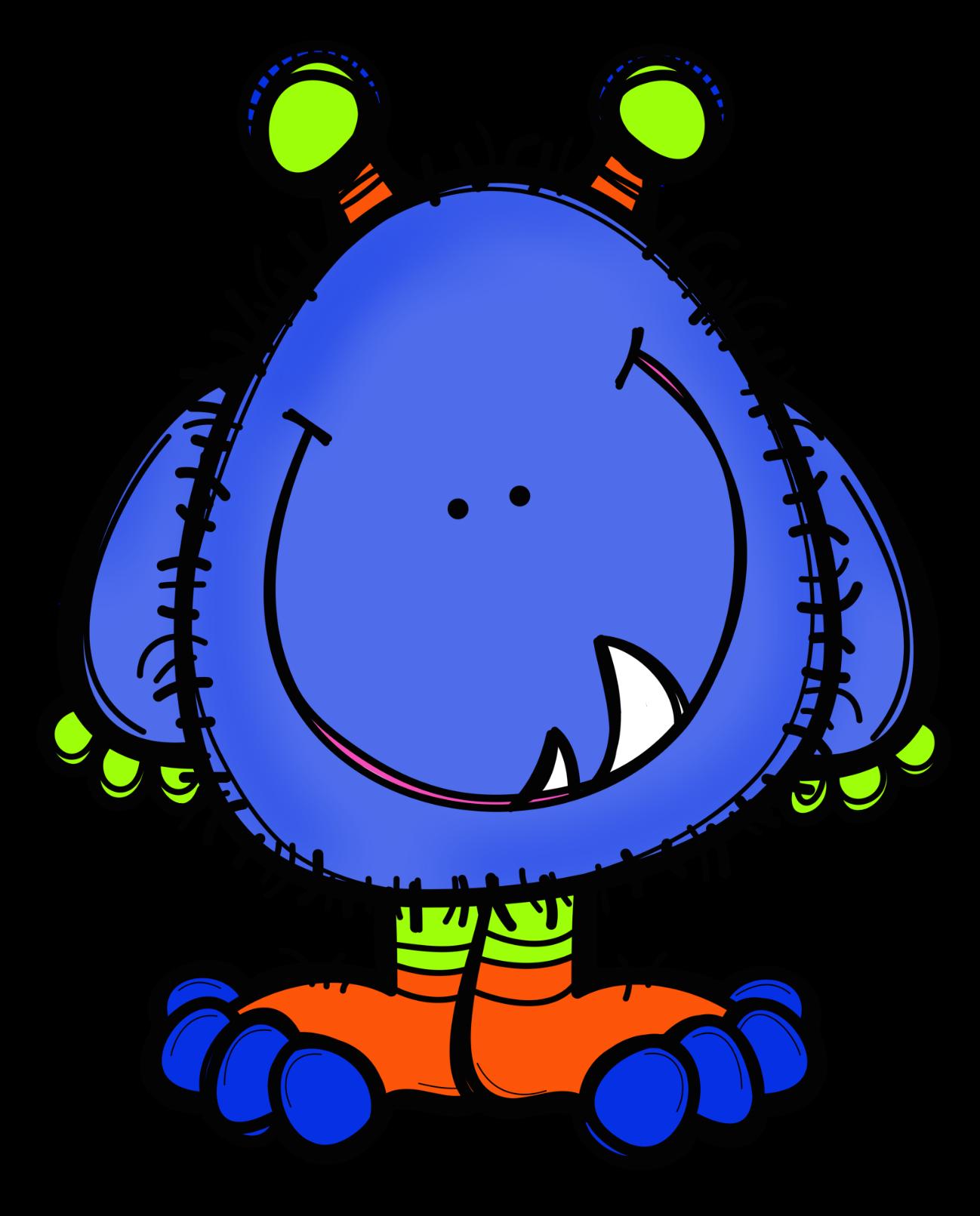 Silly blue fish clipart clip black and white download Problèmes de monstres, le retour... - De deux choses l'une ... clip black and white download