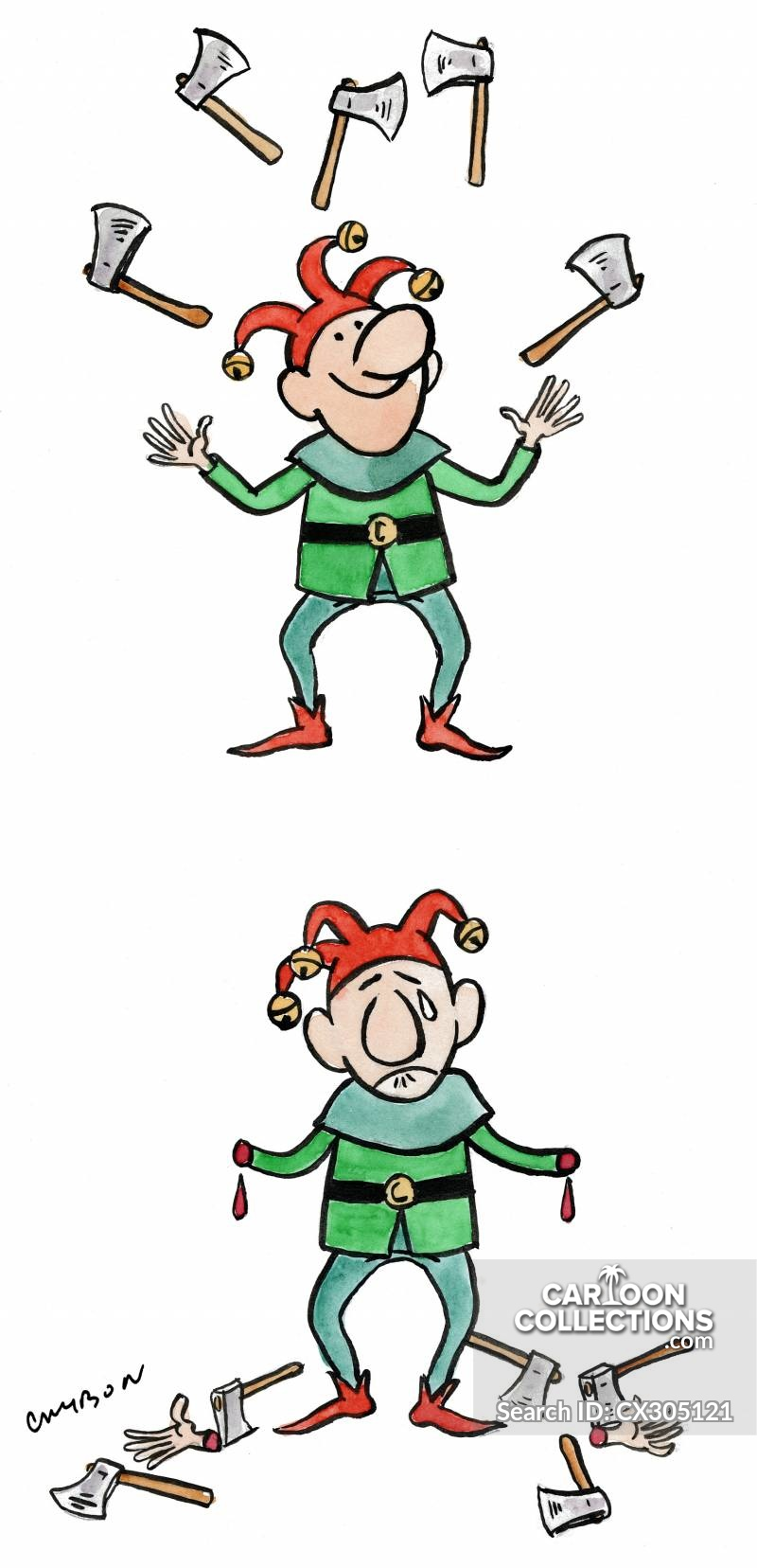 Silly court jester clipart clip transparent Court Jester Cartoons and Comics - funny pictures from ... clip transparent