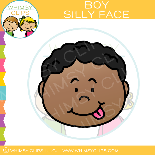 Silly face clipart graphic library library Boy Silly Face Clip Art graphic library library