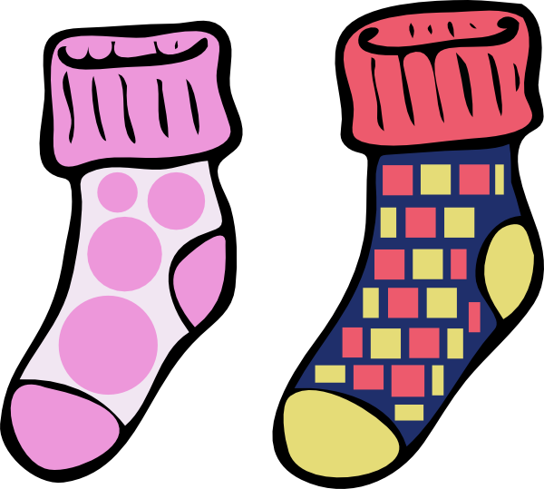 Silly sock day clipart jpg stock Clip Art Crazy Socks Clipart - Socks Clip Art , Transparent ... jpg stock