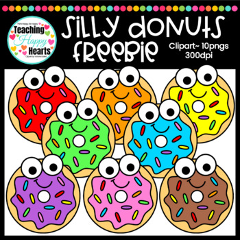 Silly week clipart clipart royalty free Silly Donuts Free Clipart clipart royalty free