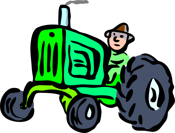 Sillybackhoe clipart clipart royalty free download Free John Deere Cartoon, Download Free Clip Art, Free Clip ... clipart royalty free download