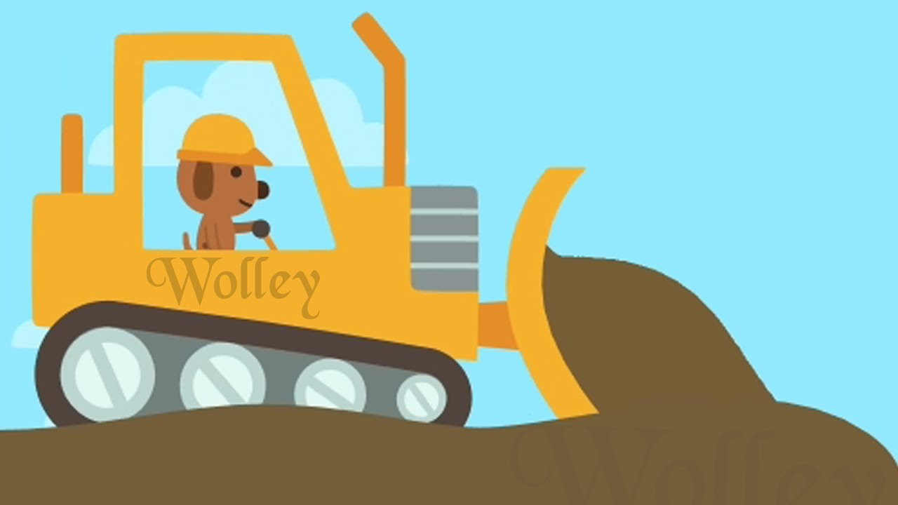 Sillybackhoe clipart picture free library Trucks and Diggers Cartoons for Children - Sago Mini Backhoe, Cranes,  Excavator & Bulldozer For Kids picture free library