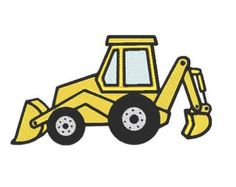 Sillybackhoe clipart png black and white library 94 Best equipment images in 2017 | Clip art, Pictures ... png black and white library