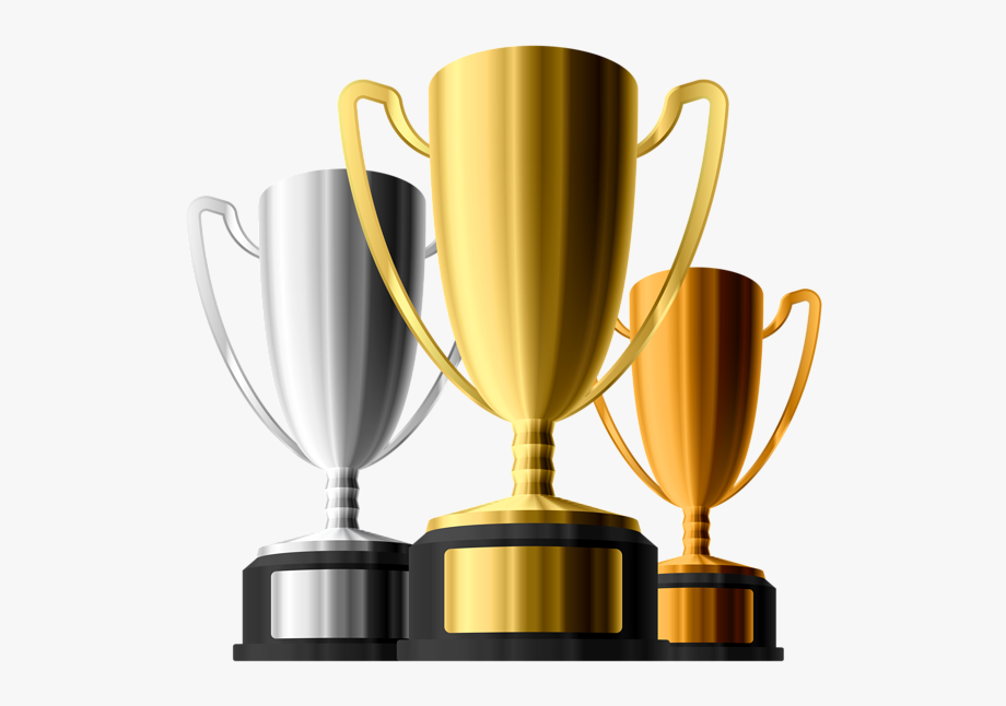 Silver award plate clipart png free library Gold Silver Bronze Trophies Clipart - Trophy And Medal Png ... png free library