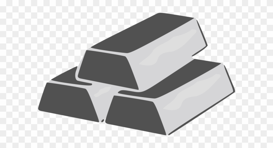 Silver bar clipart image freeuse download Silver Clipart Silver Bar - Silver Brick Clip Art - Png ... image freeuse download