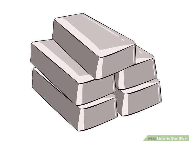 Silver bar clipart jpg free library 5 Ways to Buy Silver - wikiHow jpg free library