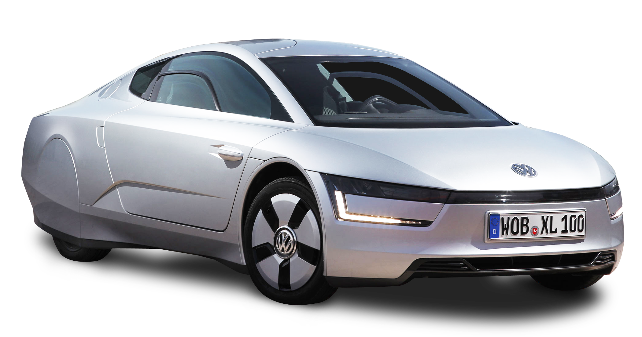 Silver car clipart svg royalty free library Silver Volkswagen XL1 Car PNG Image - PurePNG | Free transparent CC0 ... svg royalty free library