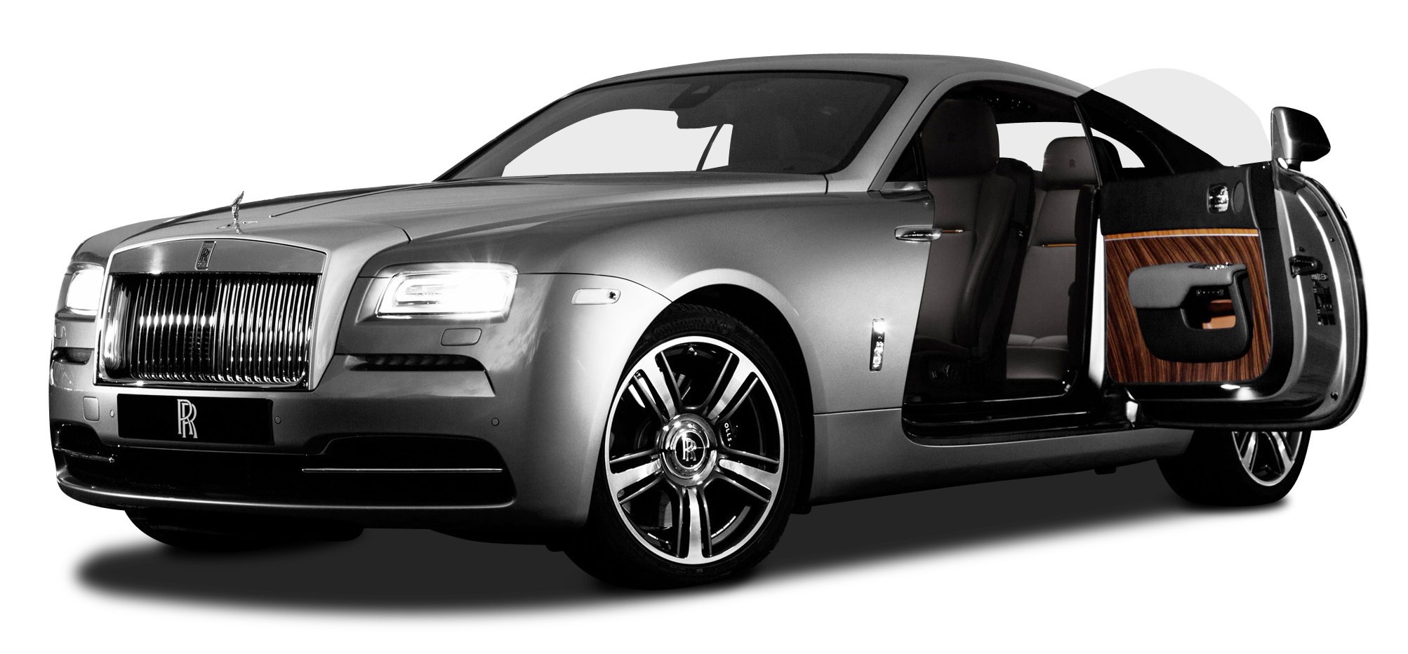 Silver car clipart image freeuse Rolls Royce Wraith Silver Car PNG Image - PurePNG | Free transparent ... image freeuse