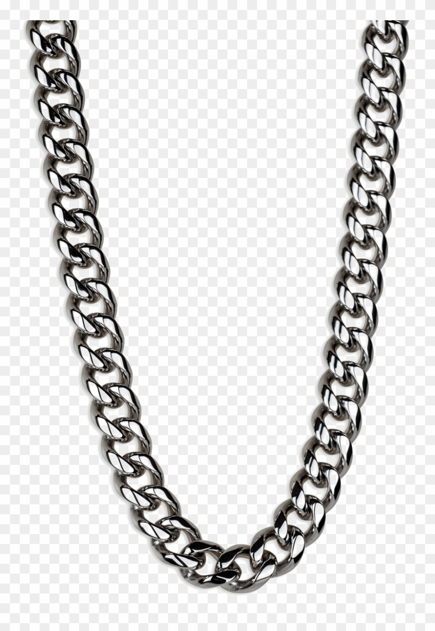 Silver chain clipart freeuse Black Chain Png - Silver Neck Chain Png Clipart (#3500790 ... freeuse