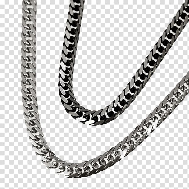 Silver chain clipart library Chain Necklace Jewellery Pendant Gold, Real shot prime ... library