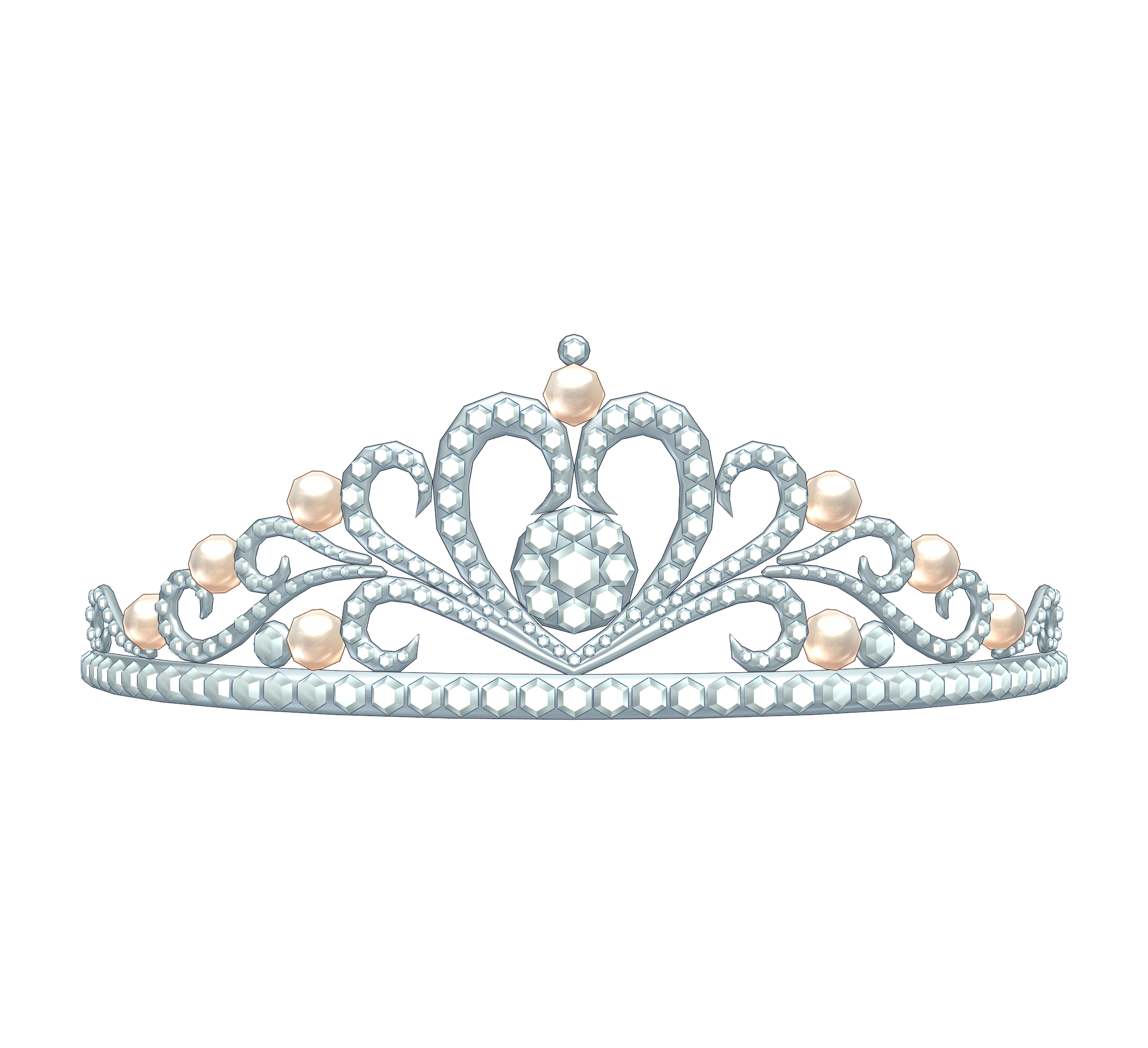 Silver crown clipart transparent background graphic black and white download Tiara PNG HD Transparent Tiara HD.PNG Images. | PlusPNG graphic black and white download