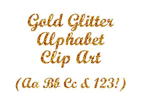 Silver glitter alphabet letter clipart jpg free Gold Glitter Alphabet Clipart, Digital Glitter Letters Clip Art ... jpg free