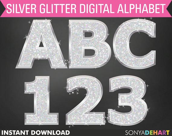 Silver glitter alphabet letter clipart clipart free stock Silver glitter alphabet letter clipart - ClipartFest clipart free stock