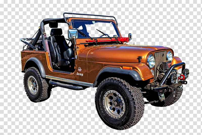 Silver jeep clipart png transparent stock Orange older SUVs physical map transparent background PNG ... png transparent stock