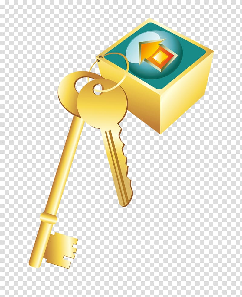 Silver key clipart with light blue background vector freeuse Key Lock, Golden Key transparent background PNG clipart ... vector freeuse