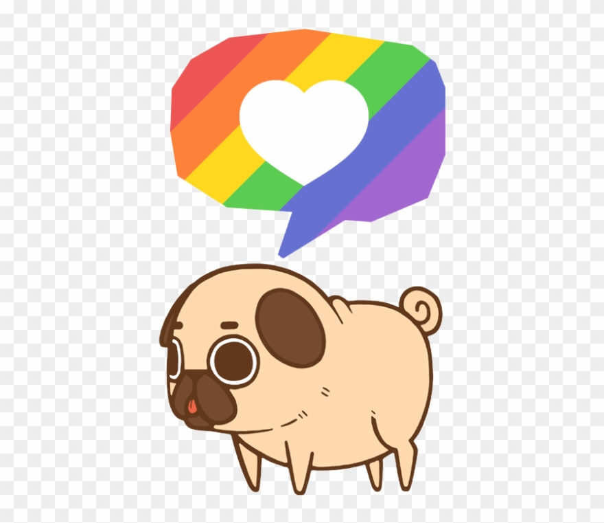 Silver pride clipart picture Puglie Supports Equality, Love, Respect, And Pride - Kawaii ... picture
