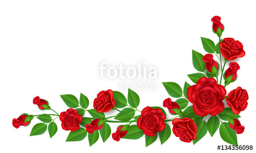 Silver rose corner border with cross clipart clipart freeuse library White Rose Border   Free download best White Rose Border on ... clipart freeuse library