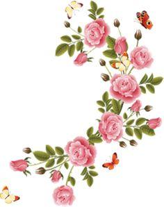 Silver rose corner border with cross clipart clip art freeuse 137 Best Flower borders & corners images in 2019   Flower ... clip art freeuse