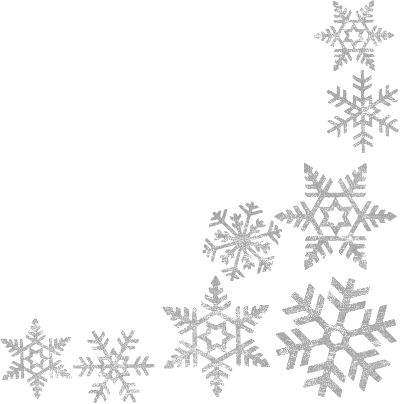 Silver snowflake clipart png banner free download silversnow — Associates in Family Medicine banner free download