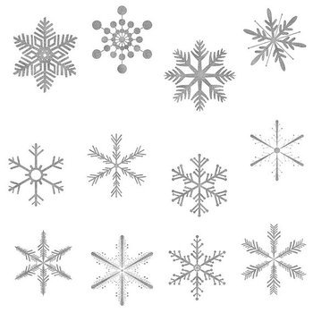 Silver snowflakes clipart png transparent stock Silver snowflake clipart 1 » Clipart Portal png transparent stock