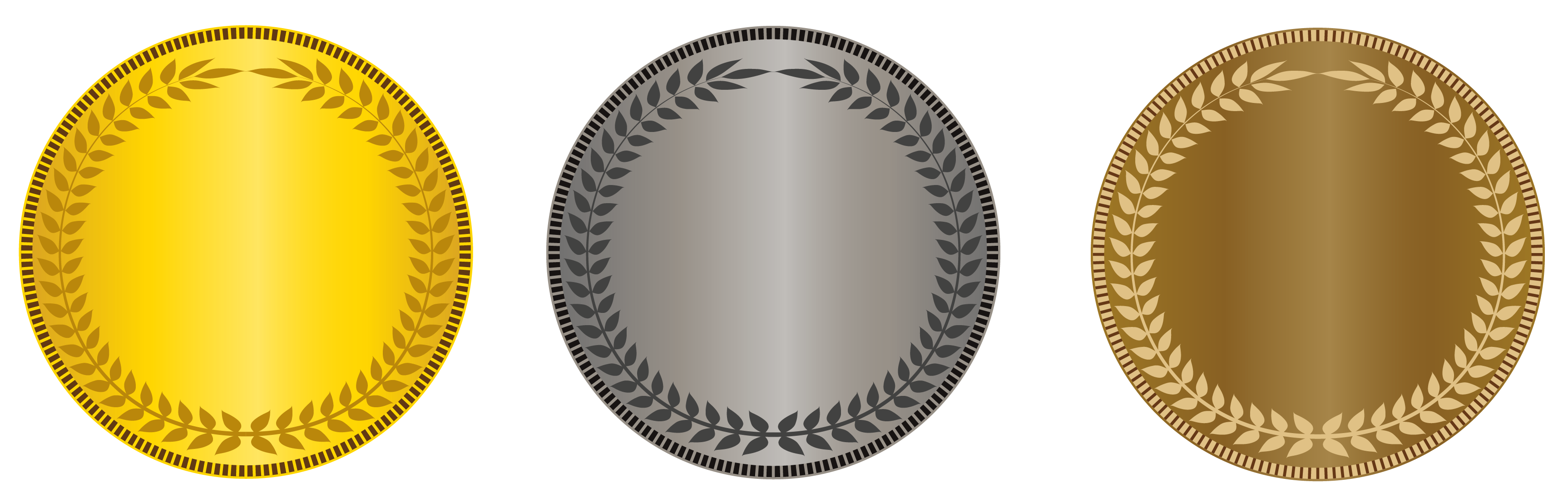 Snowflake clipart free gold and silver graphic black and white library Transparent Gold Silver Bronze Medals PNG Picture | Gallery ... graphic black and white library
