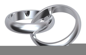 Silver wedding ring clipart png transparent library Silver Wedding Ring Clipart | Free Images at Clker.com ... png transparent library