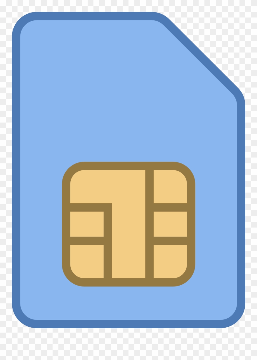 Sim clipart jpg free download Mobile Sim Card Icon Clipart - Sim Card Icon - Png Download ... jpg free download