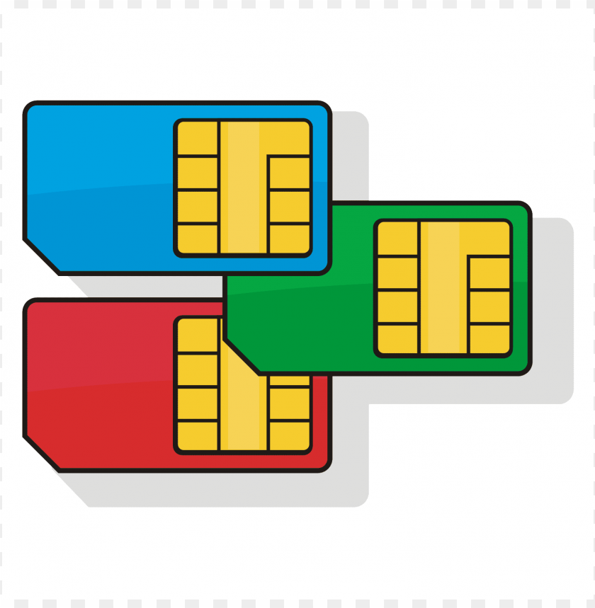 Sim clipart graphic library library Download sim cards clipart png photo | TOPpng graphic library library