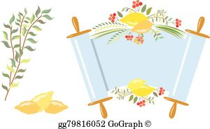 Simchat torah clipart banner royalty free download Simchat Torah Clip Art - Royalty Free - GoGraph banner royalty free download