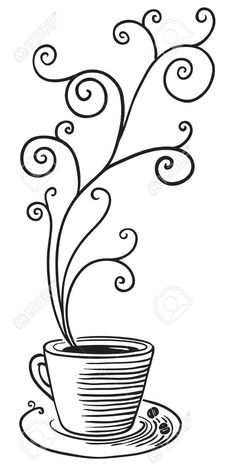 Simmering coffee mug clipart outline free 14 Best tea cup clip art images in 2016 | Tea time, High tea ... free