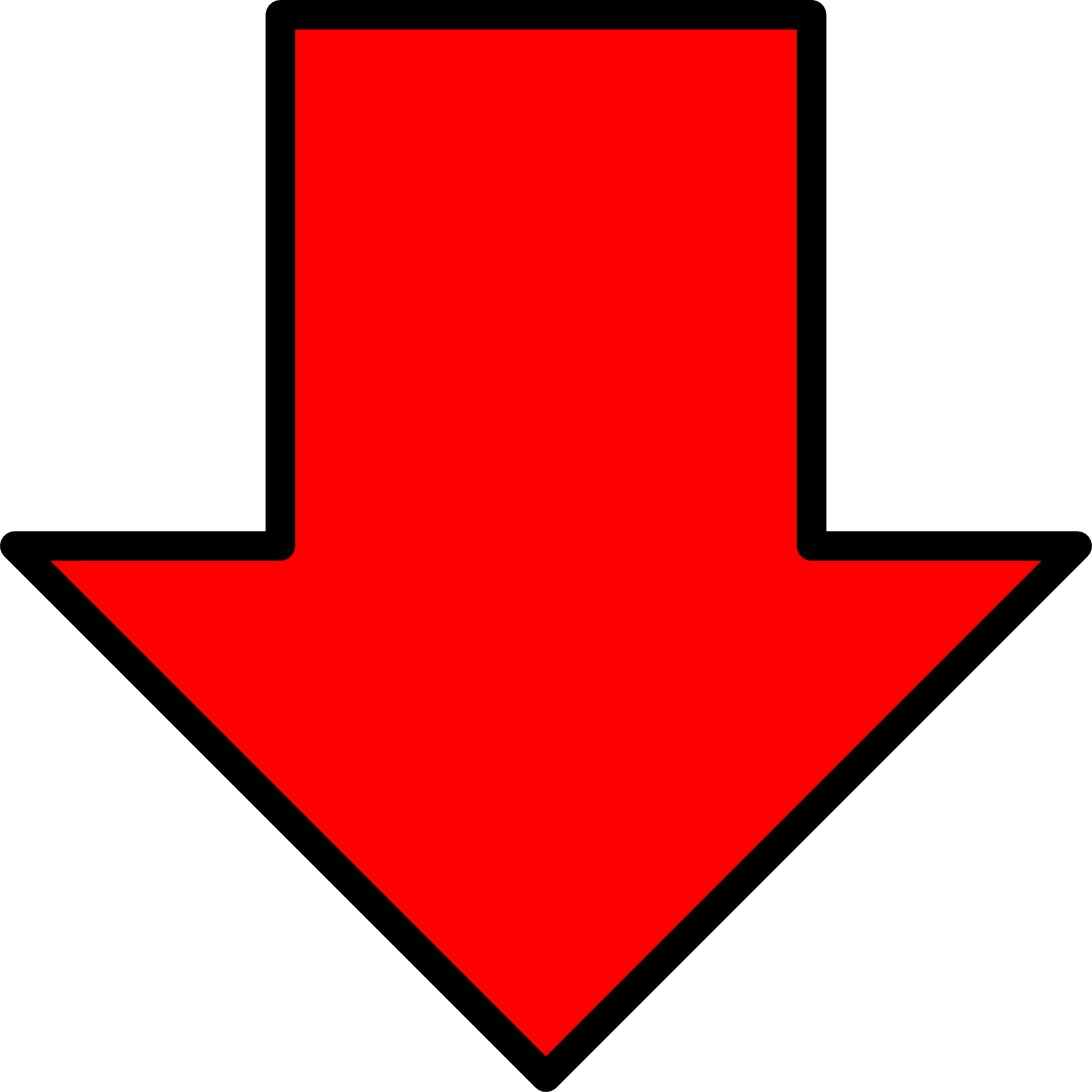Simple arrow thick clipart graphic download Free Arrow Down, Download Free Clip Art, Free Clip Art on ... graphic download