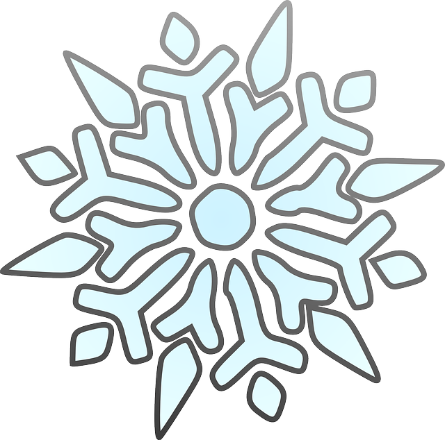 Simple blue snowflake clipart clip art black and white stock Free pictures SNOWFLAKE - 137 images found clip art black and white stock