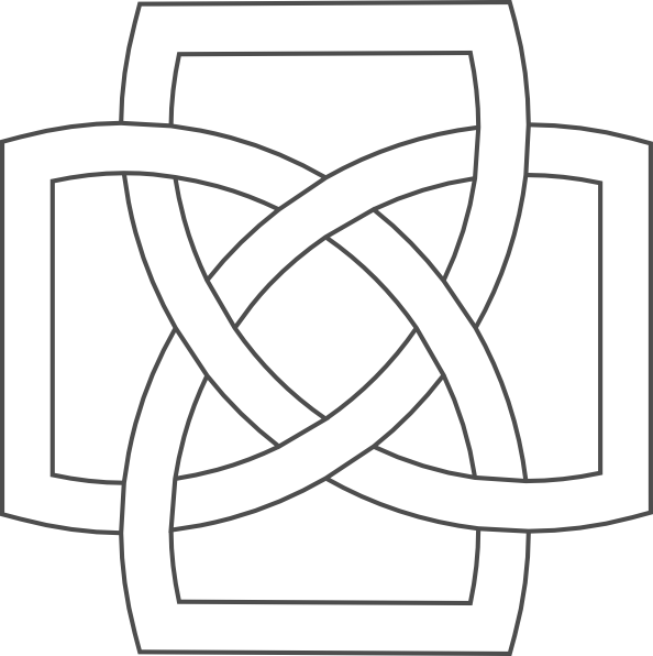 Simple celtic cross clipart picture freeuse library Kattekrab Celtic Inspired Knots Clip Art at Clker.com - vector clip ... picture freeuse library