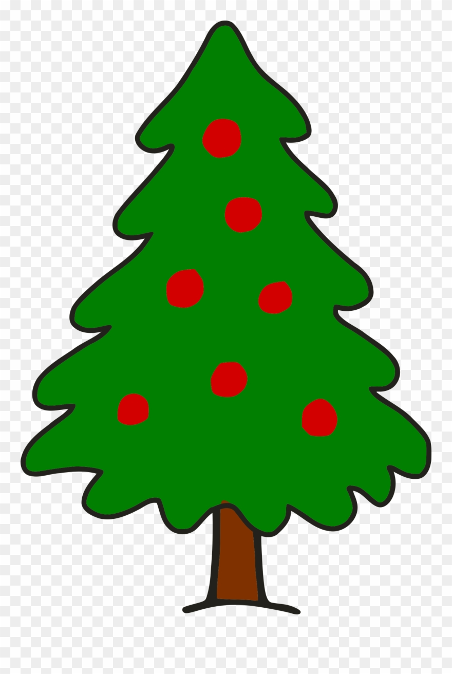 Simple clipart christmas tree jpg freeuse library Christmas Tree Cartoon Png Simple Christmas Tree Clip ... jpg freeuse library
