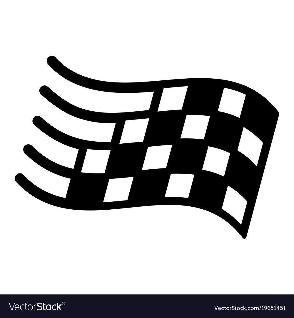 Simple clipart finish line clip art library library Finish flag icon simple black style clip art library library