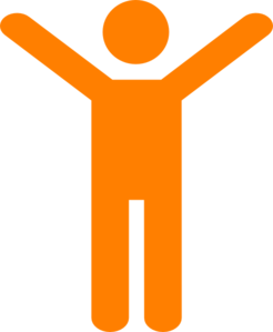 Simple clipart man png royalty free library Orangeman Joy Simple Clip Art at Clker.com - vector clip art ... png royalty free library