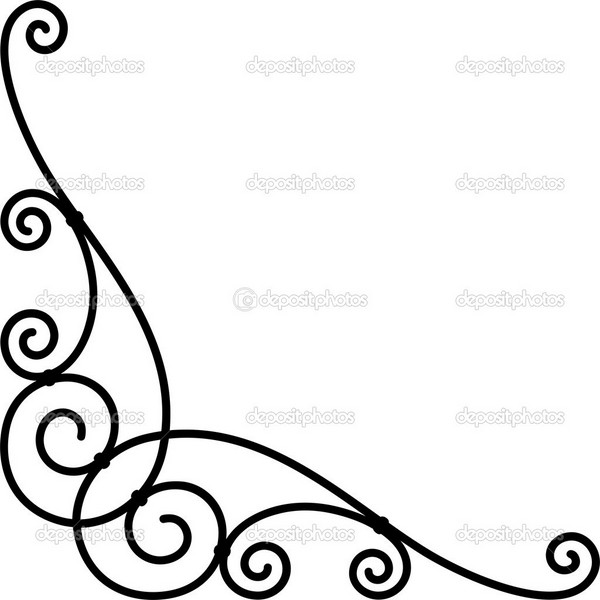 Simple corner clipart clipart stock Simple Corner Border Designs | Free download best Simple ... clipart stock