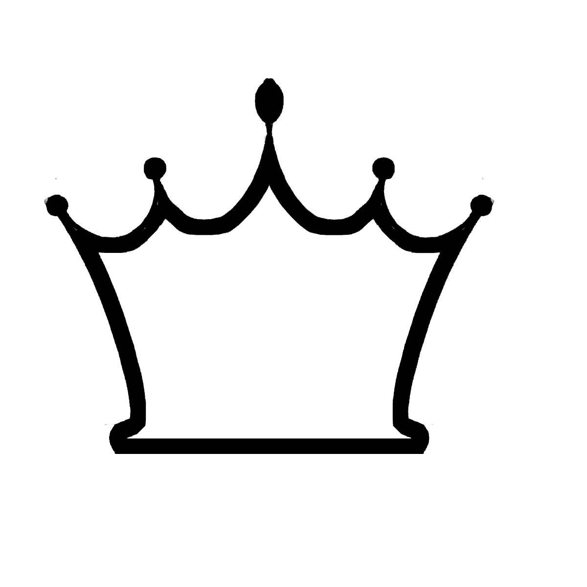 Simple crown clipart png jpg transparent library Simple crown clipart outline - ClipartFest jpg transparent library